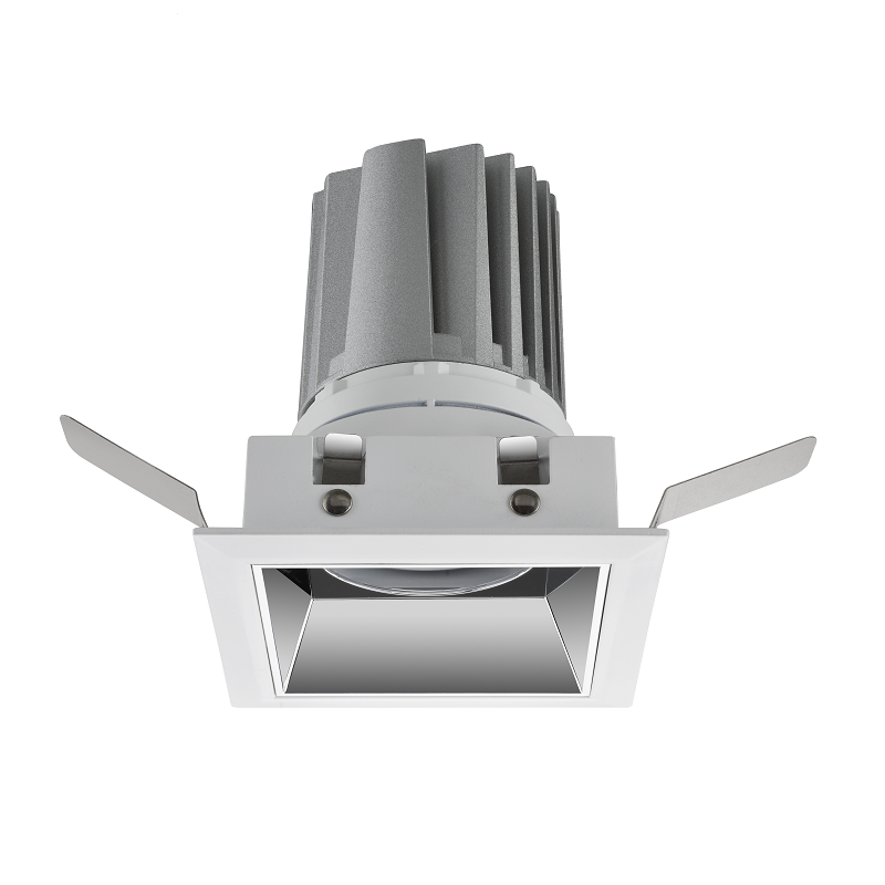 Square modular downlight IP65 fixed LED downlight